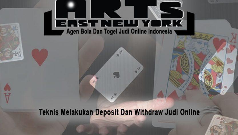 Judi Online Teknis Depo & WD - Agen Bola Dan Togel Judi Online Indonesia